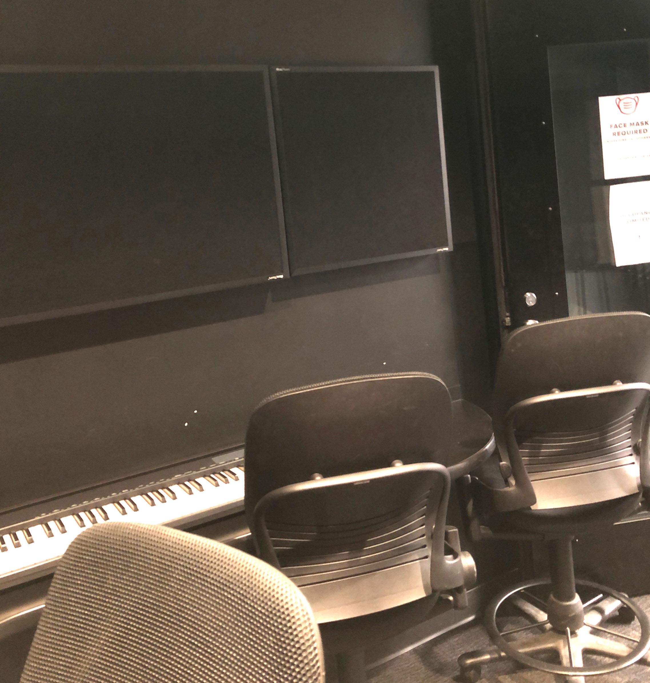 Denney Hall Digital Union Audio Studio