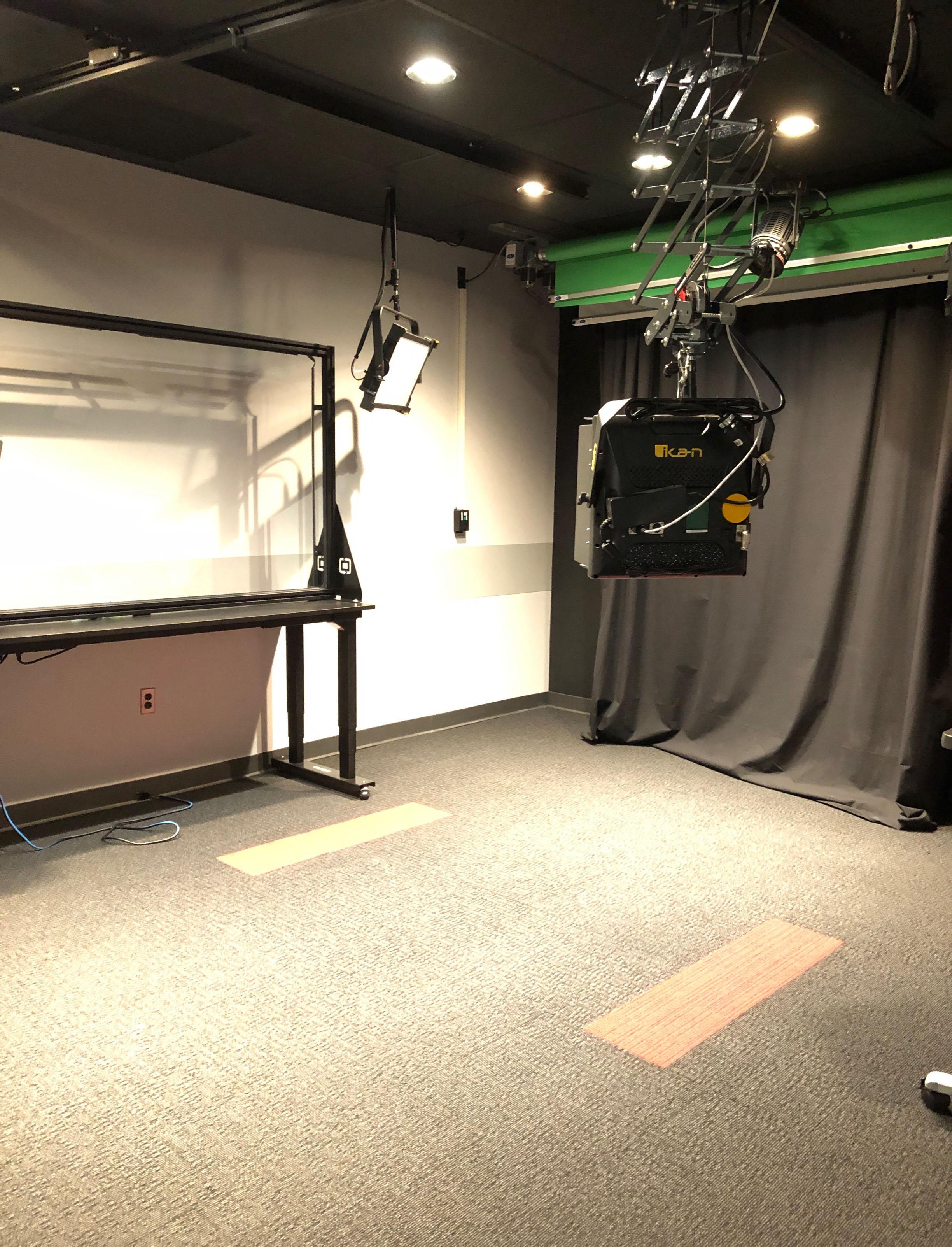 Denney Hall Digital Union Video Studio