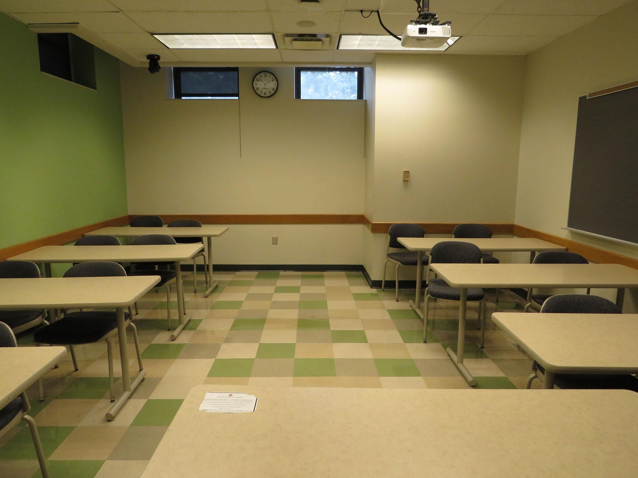 Lazenby Hall Room 018